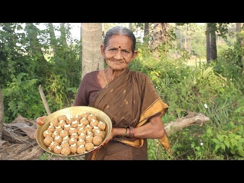 Traditional Coconut Balls with Jaggery By My Grandma || Myna Street Food || Food Info
