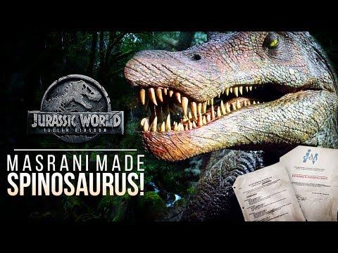 Masrani Made The Spinosaurus! InGen Secrets Revealed | Jurassic World: Fallen Kingdom