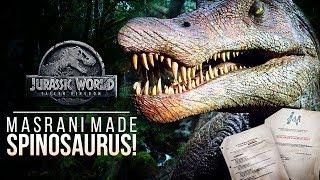Masrani Made The Spinosaurus! InGen Secrets Revealed   Jurassic World: Fallen Kingdom