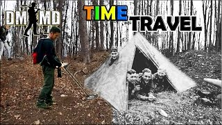 ww2-camping-base-found-in-the-mountains-via-metal-detecting