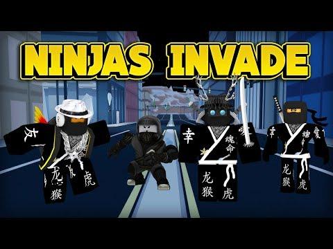 NINJAS ARE TAKING OVER JAILBREAK! (ROBLOX Jailbreak)