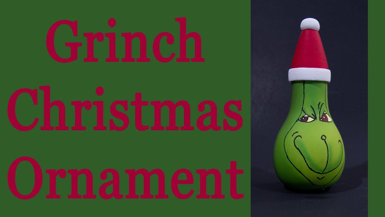 grinch christmas ornament youtube - Grinch Christmas Ornaments