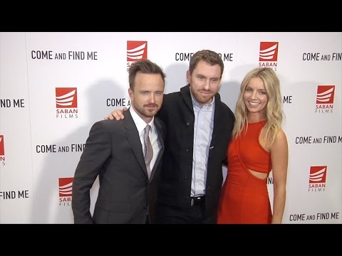 "Aaron Paul, Annabelle Wallis, Zack Whedon ""Come and Find Me"" Premiere Red Carpet"