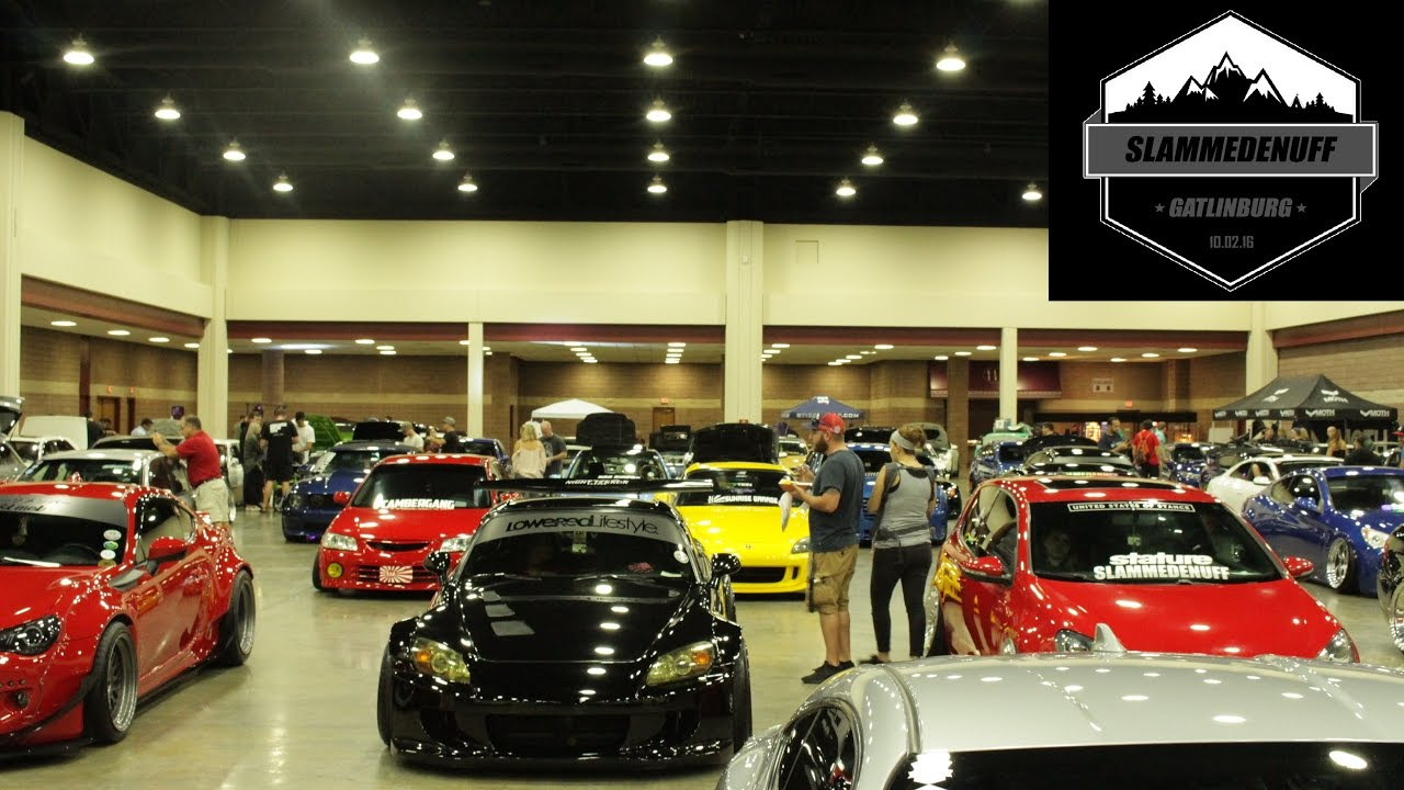 First Car Show At Slammedenuff Gatlinburg YouTube - Gatlinburg car show