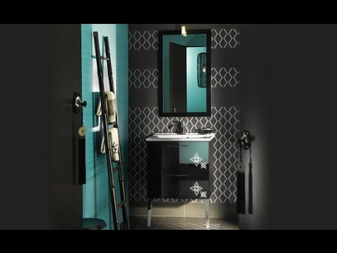 Accent Color For Gray And White Bathroom Youtube