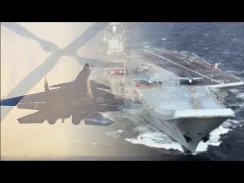 "News Weapons Of War -  Russian Aircraft ""Admiral Kuznetsov"" CV063 - St. Andrew's Flag. And His Miss"