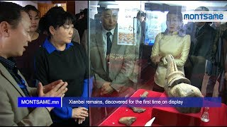 Xianbei remains, discovered for the first time on display