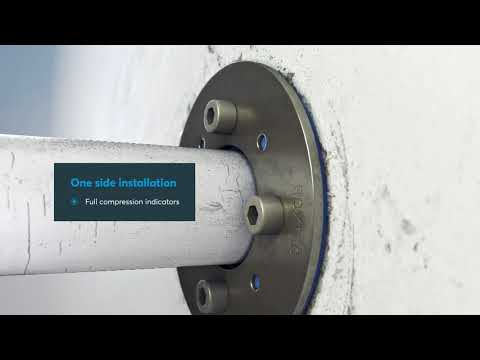 Roxtec SPM™ – seal your metal pipes without welding