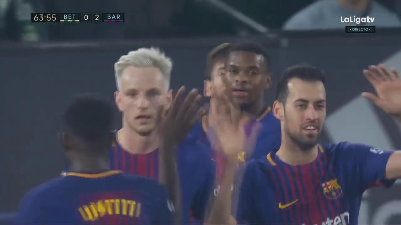 Download Real Betis vs Barcelona 0-5 All Goals & Extended Highlights La Liga 21/01/2018 HD
