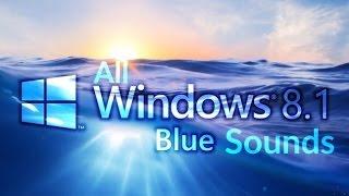 All Windows 8.1 Blue Sounds