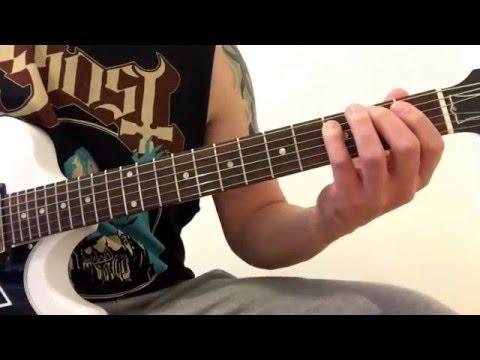 Ghost: Prime Mover - Guitar Lesson.