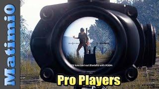 Pro Players - Battlegrounds