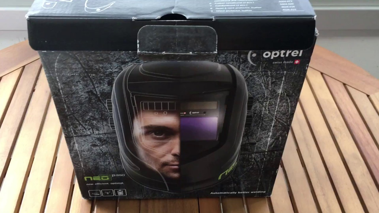 optrel neo p550 welding helmet youtube. Black Bedroom Furniture Sets. Home Design Ideas