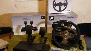 Unboxing My Fanatec Club Sport V2.5 + Xbox P1 Rim & CSL Pedals