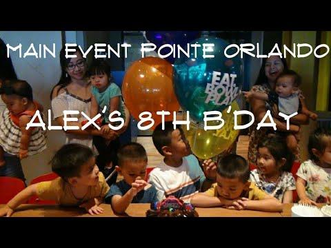 2017.08.12 Alex's 8th Bday - Main Event Pointe Orlando