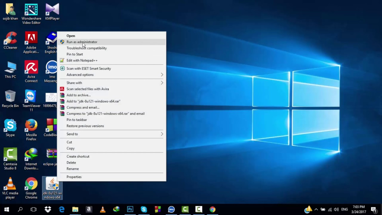 how to download exlipse and open windows