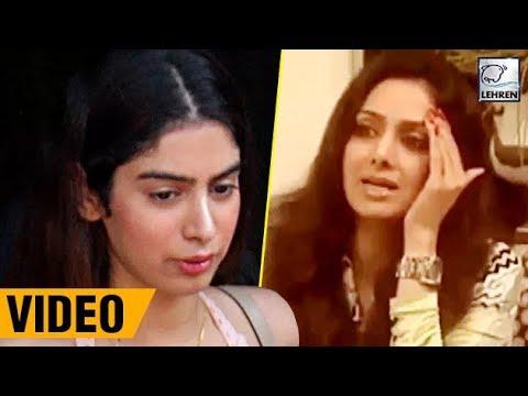 Sridevi Shouting At Khushi Kapoor, Old Video Goes Viral   LehrenTV