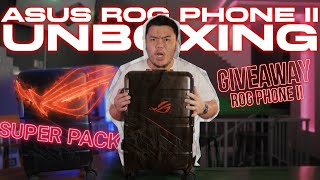 UNBOX ASUS ROG PHONE II VERSI KOPER 30JUTA! + GIVEAWAY!! - PROS REVIEW
