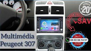 Remplacement d'un autoradio sur Peugeot 307CC par Bassevelle Auto Services