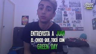 Green Day en Argentina 2017 Entrevista a Juan fan