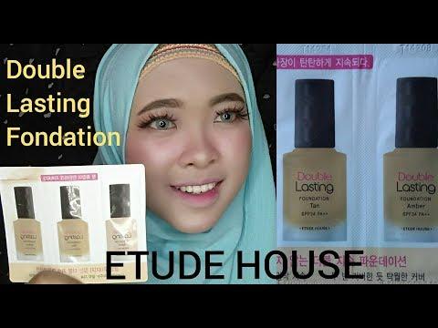 Review ETUDE HOUSE FOUNDTION ( Etude House Double Lasting Foundation ) | By Vapinka Makeup