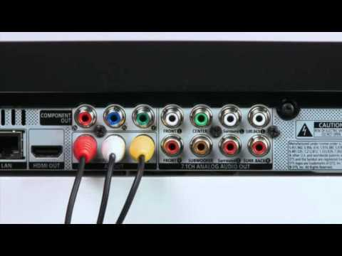 Connecting your TV using a Composite or AV cable