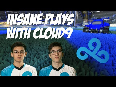 INSANE PLAYS WITH SQUISHY AND GIMMICK / PRO 3V3 WITH CLOUD9