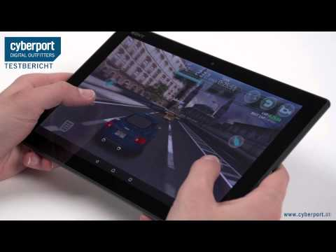 Make Sony Xperia Z4 Tablet im Test I Cyberport Snapshots