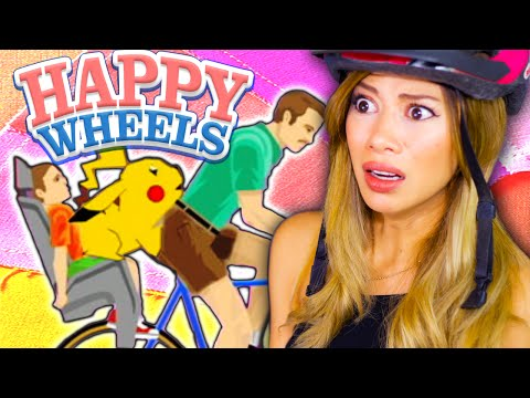 PIKACHU GETS FRISKY - Happy Wheels Fails
