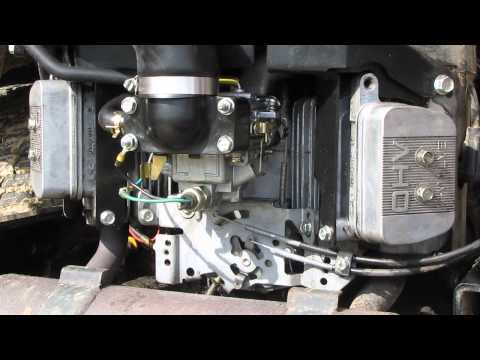 FH680V linkages with engine off