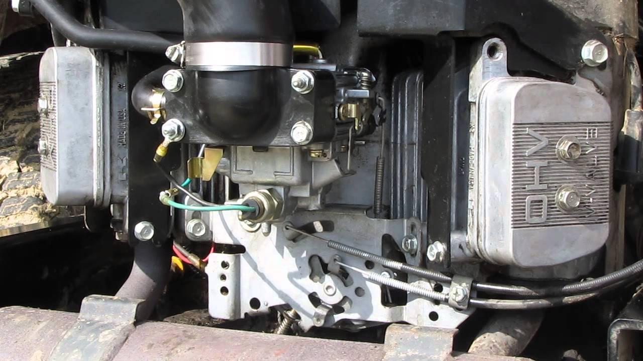 Fh680v Linkages With Engine Off Youtube
