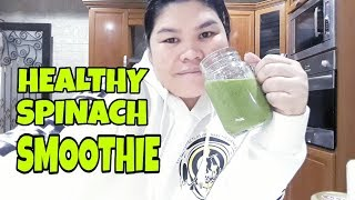 Spinach smoothie healthy lifestyle 2019 ...