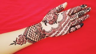 Latest Simple And Beautiful Mehndi Design With Pictures - Shimmi