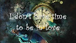 Priscilla Ahn ~ I  Don't Have Time To Be In Love (with lyrics)