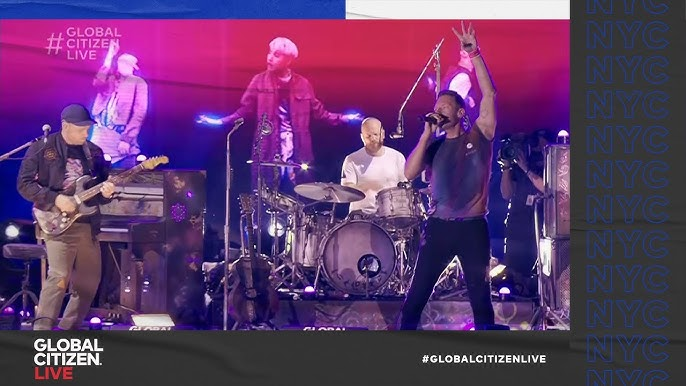 Coldplay and BTS Share New Song My Universe   Global Citizen Live