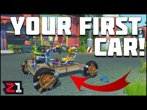 how-to-build-a-car-in-scrap-mechanic-survival-!-simple-basic-car-quick-tips-|-z1-gaming