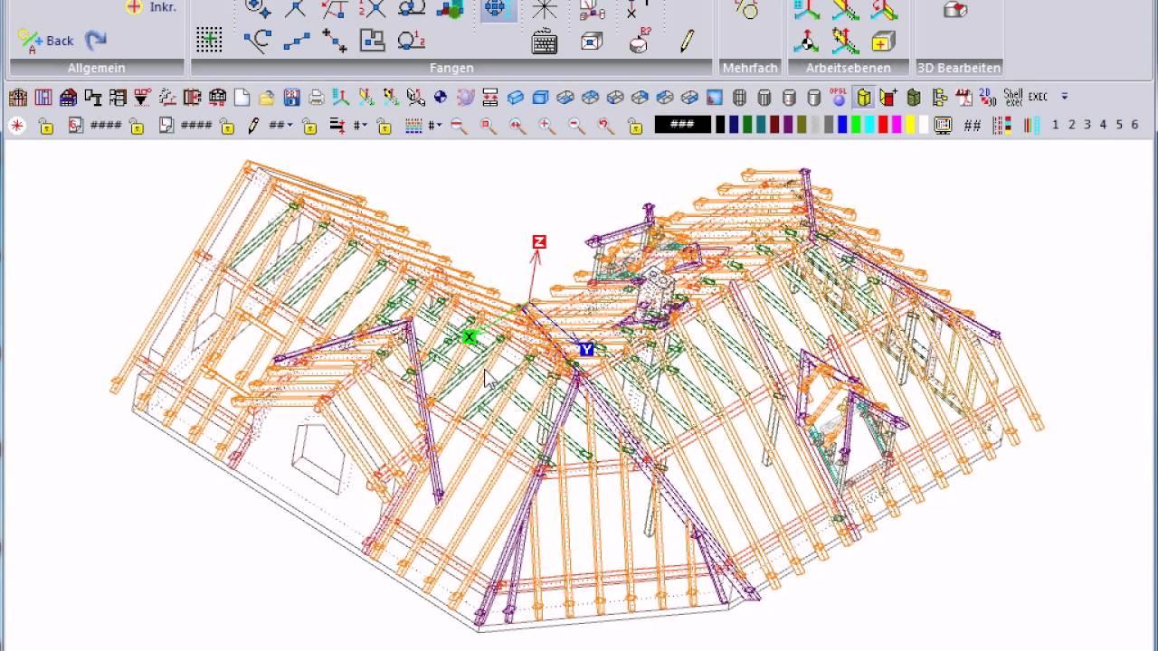 Nussreiner AbbundCAD 20.0: 07 Projektmanager: Einen 3D-Plan als ...