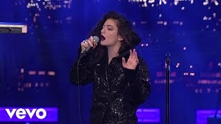 Lorde - Tennis Court (Live On Letterman)