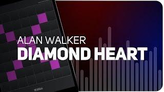 Playing DIAMOND HEART | Alan Walker on SUPER PADS LIGHTS - KIT KINGDOM