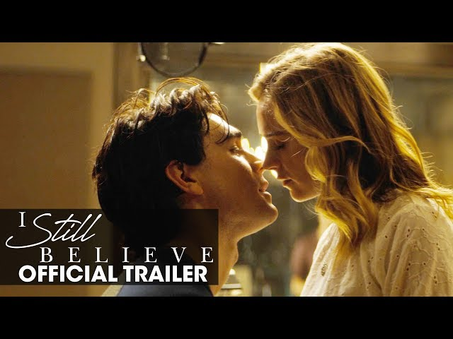 I Still Believe (2020 Movie) Official Trailer | KJ Apa, Britt Robertson