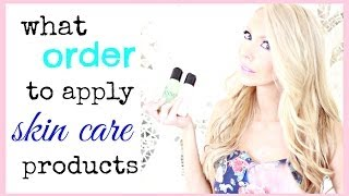 What Order to Apply Your Skin Care Products: How to Layer Skin Care Thumbnail