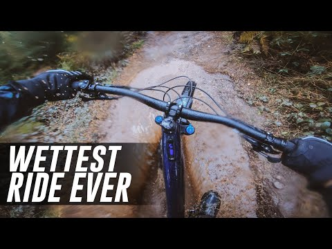 Wondering how wet an eBike can get?