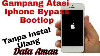 cara memperbaiki iphone stuck logo , bootloop, restart, dengan mudah ga usah bongkar iphonenya tools.