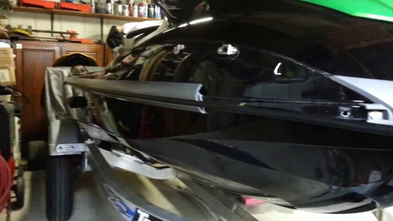 Yamaha Fzs Inner Gunwale    Bumper Replacement