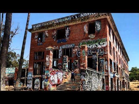 Abandoned Hotel, (Old Byron Hot Springs Hotel) Byron, CA
