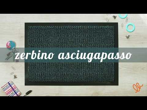 ZERBINO ASCIUGAPASSO ANTISPORCO E ANTI-IMPRONTA