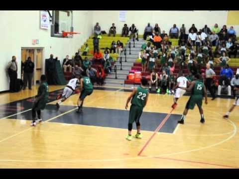 Fred Sanders #0 - Mallard Creek High School vs A.L. Brown (Varsity Basketball)