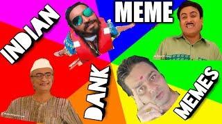 Funny Indian Dank Memes ft.reporter Aunty    inarMEME TV