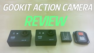 Gookit WIFI 2.0 1080P Action Camera with Remote Control REVIEW