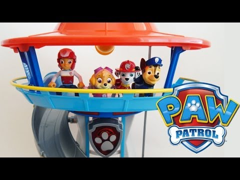 Paw Patrol Lookout Playset With Chase And His Police